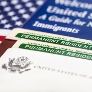 Permanent visa for living and working in the United States